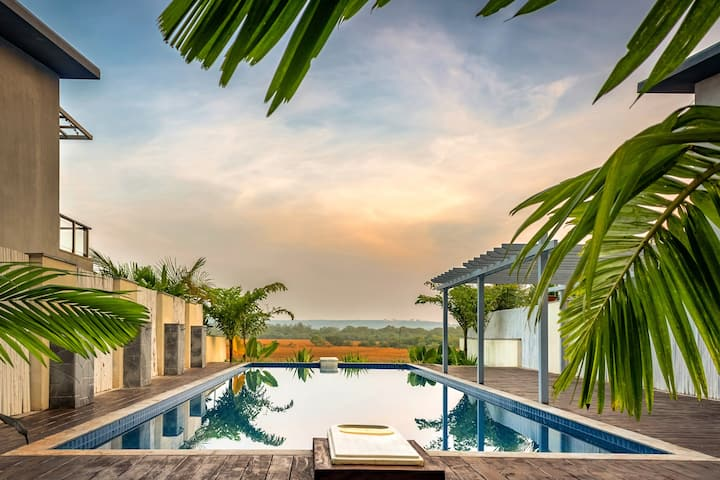 Arbour Vitae | Luxurious 2Bhk with a pool