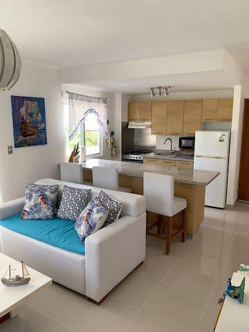 Punta Cana Serena Village apartment feel like home