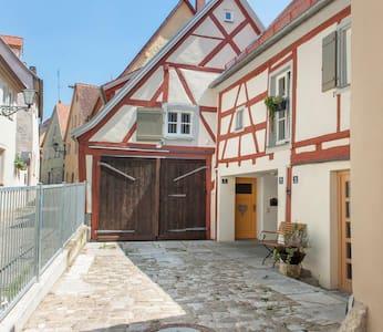 Romantisch Wohnen in der Altstadt - Weißenburg in Bayern