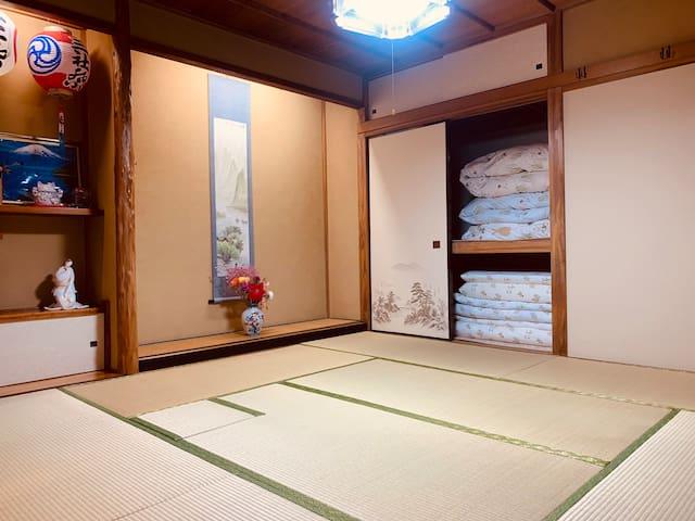 東京1floor whole貸切/交通便利/最寄り駅2ヶ所スーパー/コンビニ/日本のお庭がある