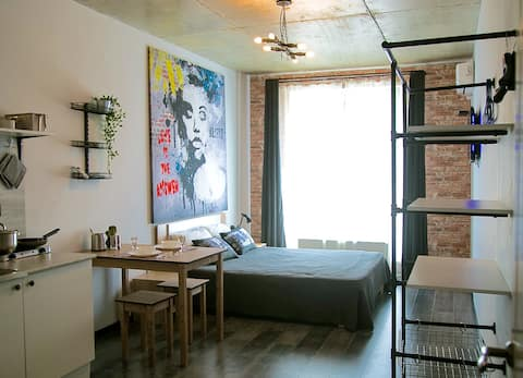 Сити LOFT-студия #1 элитный дом Центр Города