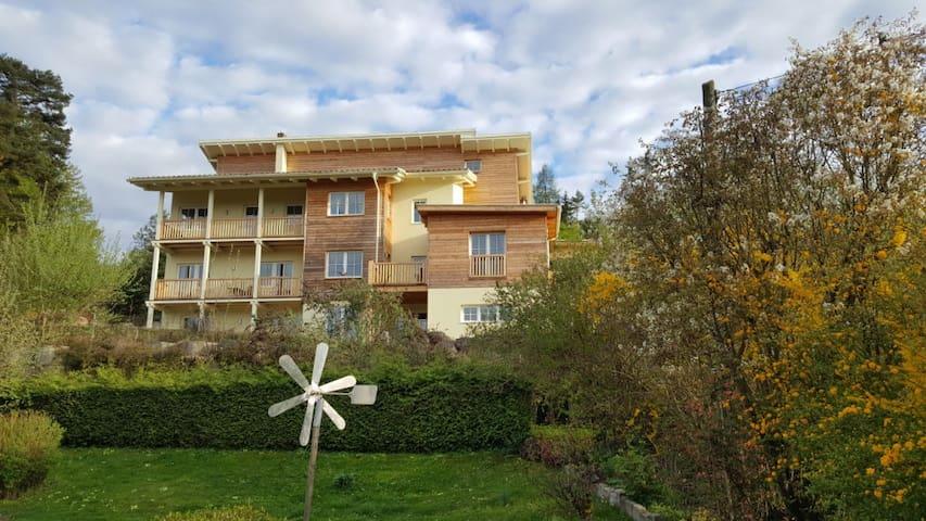 EG-Aptmt 62 qm Terrasse + Seeblick - Oberdellach - Appartamento
