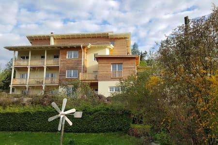 EG-Aptmt 62 qm Terrasse + Seeblick - Oberdellach - Apartemen