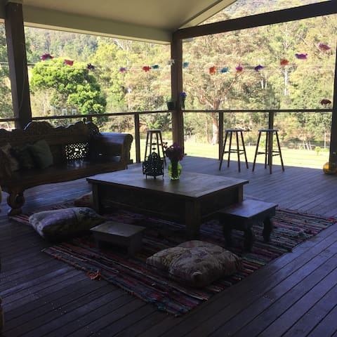 Entire home in Gold Coast Hinterland - Numinbah Valley - House