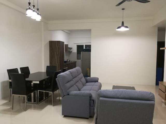 Affordable & value for $ 3 rooms condo in KK - Kota Kinabalu
