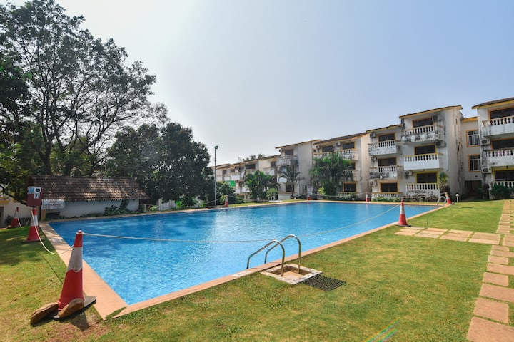 1 Bedroom Apt Walking Distance from Candolim Beach