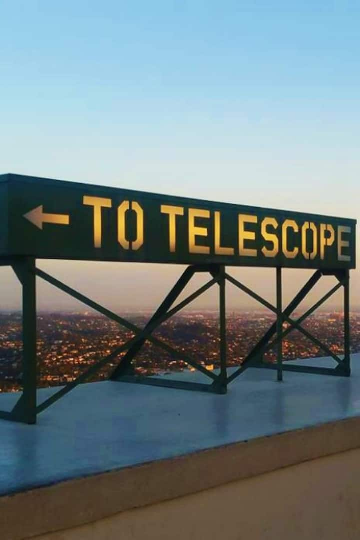 To 12-inch Zeiss Telescope on roof