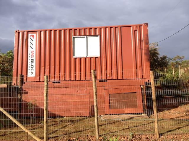Container da Lapinha -  Vermelo