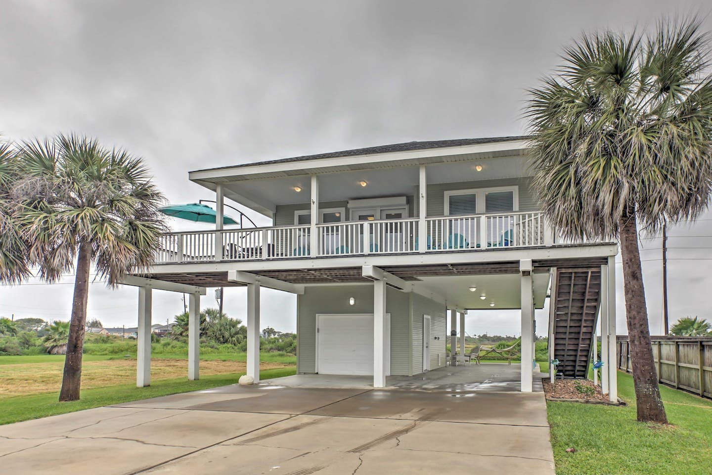 Elevate your next Galveston getaway with this 3-bedroom, 2-bath vacation rental.