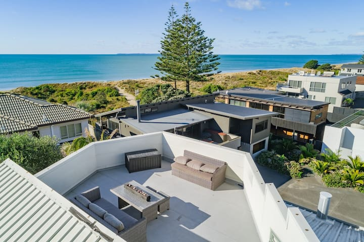 Mount Maunganui French Inspired Seaside Home