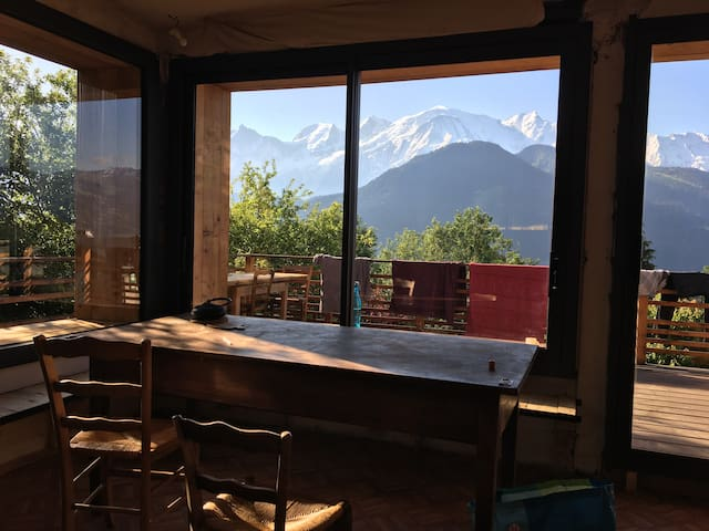 FANTASTIC VIEW _ SUNNY ROOM  _ MONT BLANC