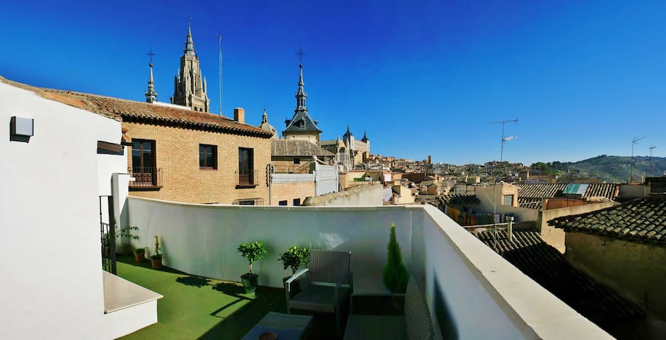 Penthouse near Cathedral - Toledo - Appartement