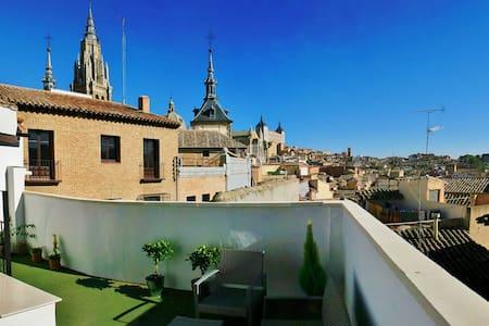 Penthouse near Cathedral - Toledo - Byt