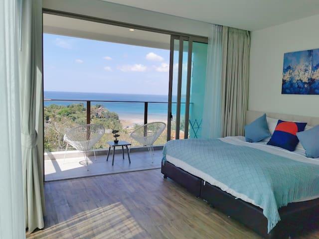 (K)Sea&City View Room Walk Distance To The Beach