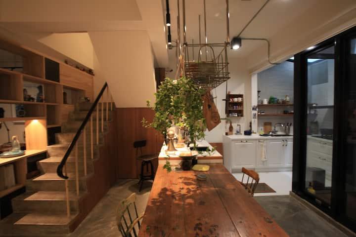 懶散台南人之生活日常/手工麵體驗/綠色空間