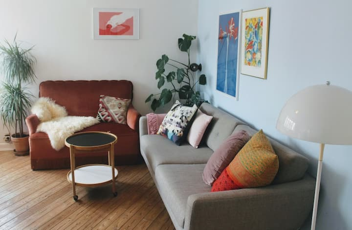 Charming apartment in trendy Nørrebro