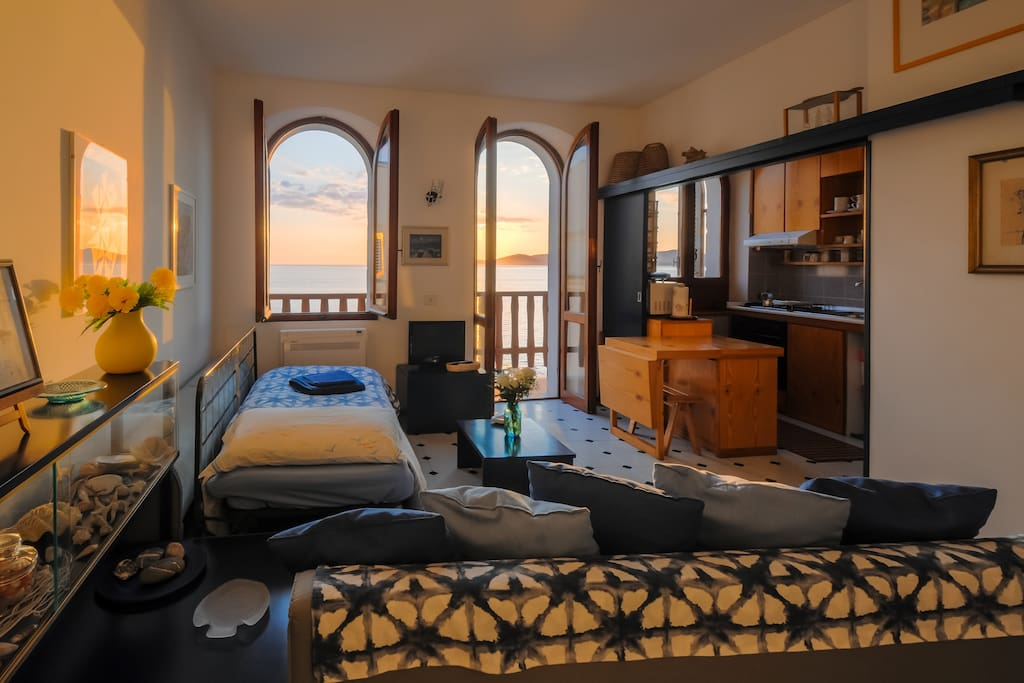 Alguerhome casa blu a view on the sea appartements louer alghero sardaigne italie - Apartamentos en alghero ...
