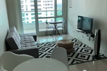 1 Bedroom Condo with huge balcony - Best location