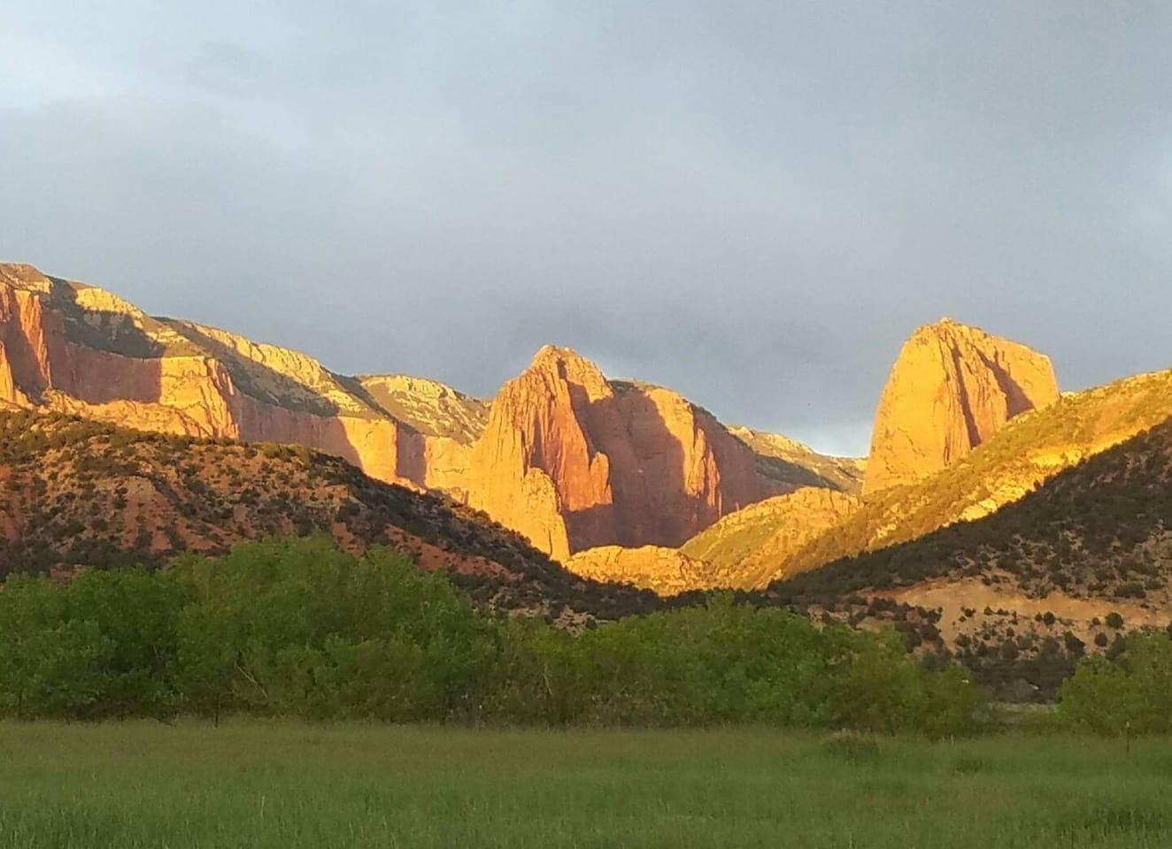 Backyard View of Kolob