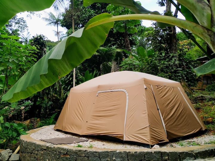 Tenda Casal - Sítio Simple Life, Itamambuca