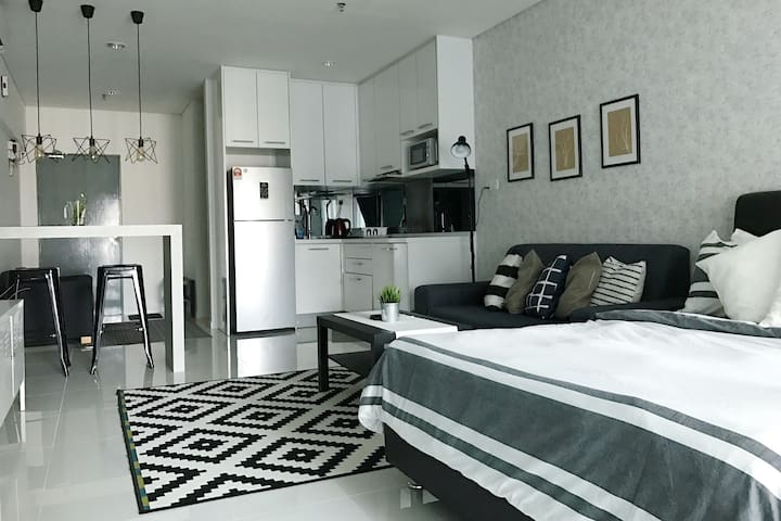 *PROMO* KLCC GREY STUDIO - Kuala Lumpur - Apto. en complejo residencial