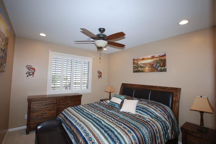 Bedroom # 4.  King Bed.