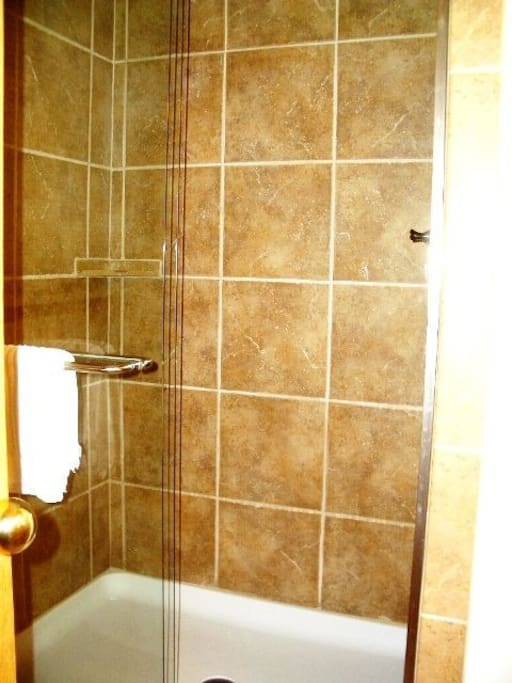 New tile showers
