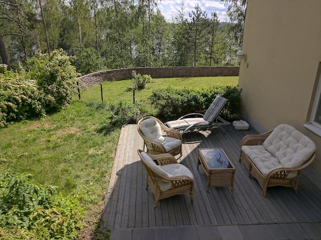 52m2 appartment near the city and the lake