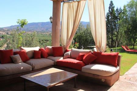 Villa 5 chambres avec  piscine dans l'Atlas - Ouirgane - Villa