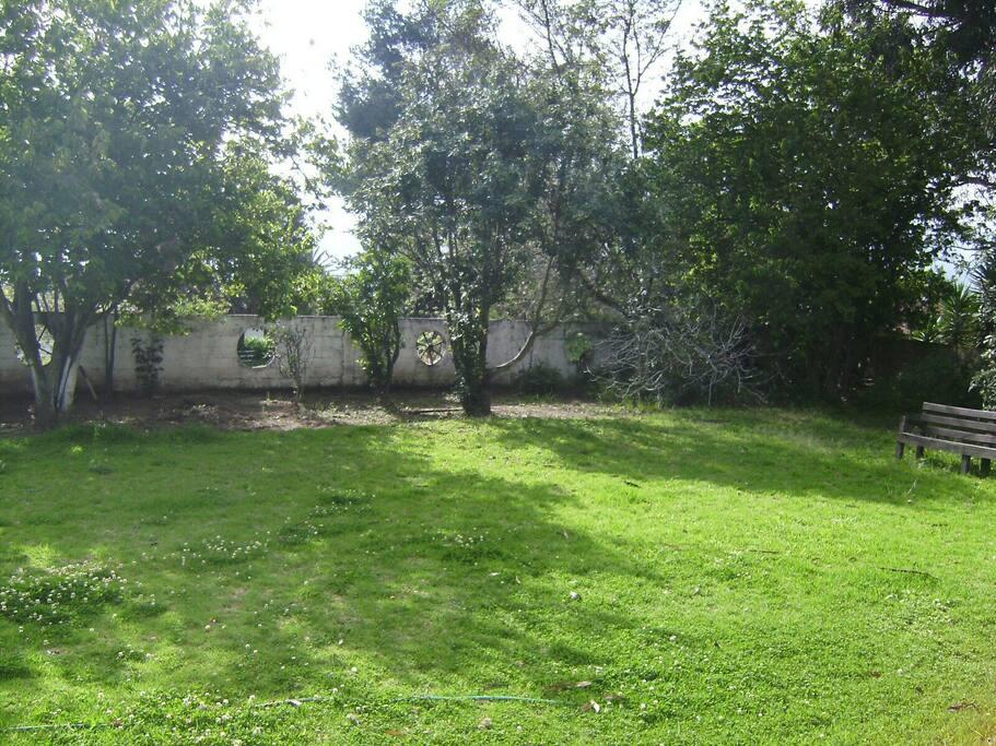Jardín campo