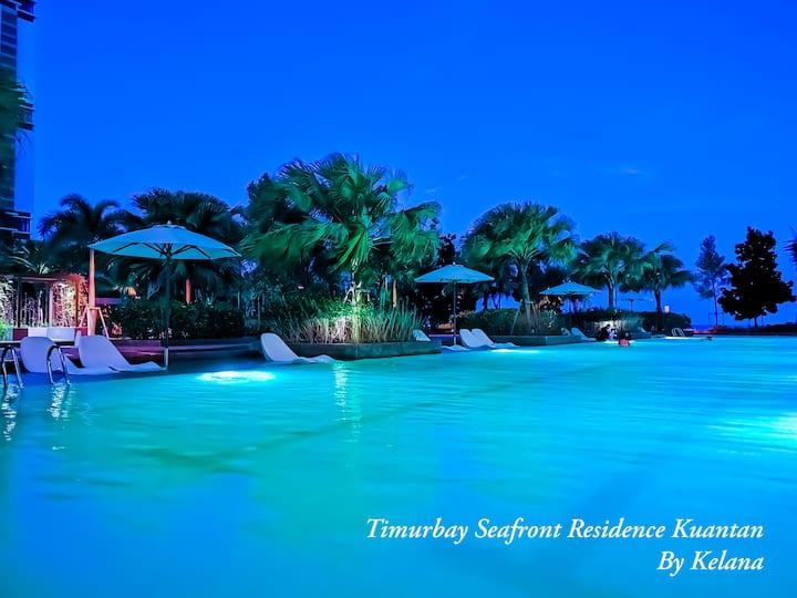Kelana@Timurbay Seafront Residence|Netflix|WiFi|
