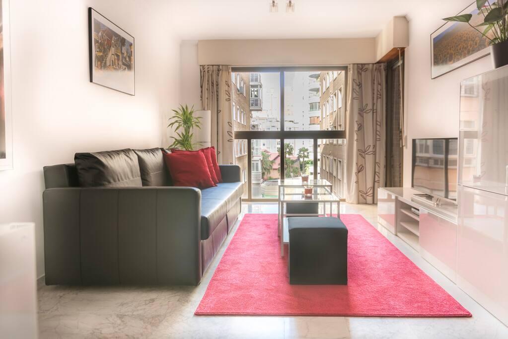 Gran confort muelle uno la malagueta apartamentos en alquiler en m laga andaluc a espa a - Apartamento vacacional malaga ...