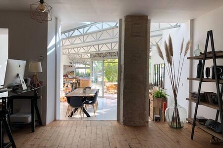 """Chambre """"Océan"""" dans le centre-ville de Niort"""