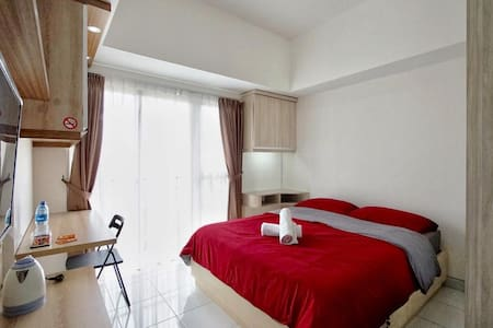 Comfy Studio at Casa De Parco, near AEON & ICE BSD