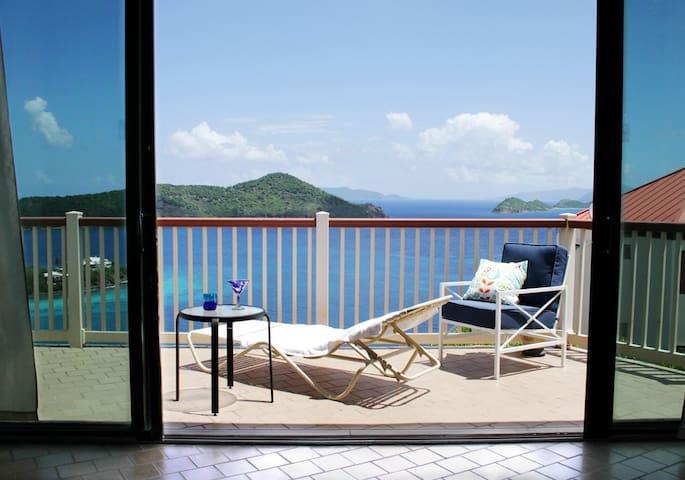 Nine Island Vista (ocean views for days!) - St. Thomas - Villa