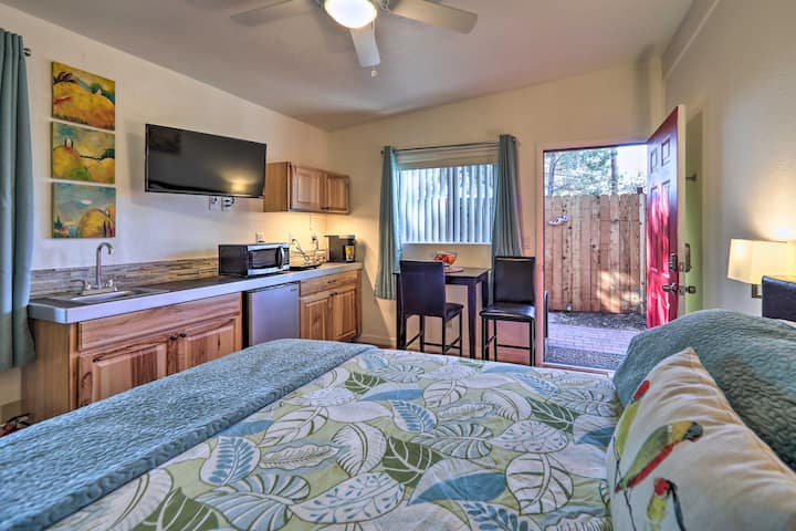 Cozy Romantic Sedona Studio 6 Mi to Red Rock St Pk