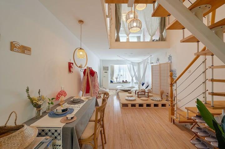 【米小圈】日系三房loft小屋
