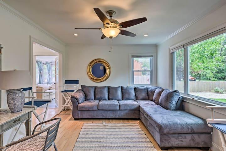 NEW! Hamptons Bay Home on Shinnecock Bay w/ Yard!