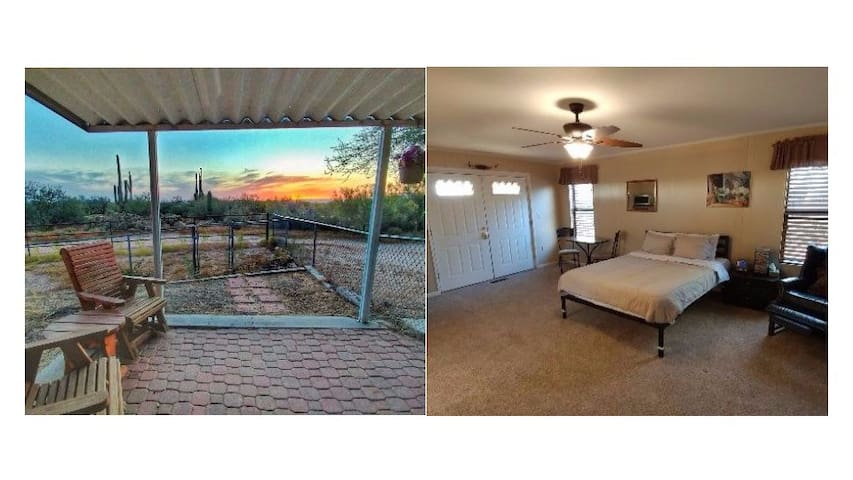 Private Suite with Views on Horse Property