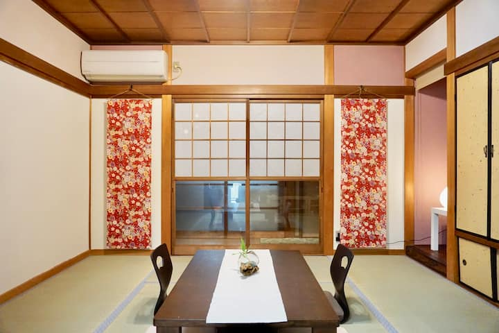 Kyoto Station 5 min ♪Fiore♪戸建貸切‼︎ 京都駅から1駅5分 東インター2分