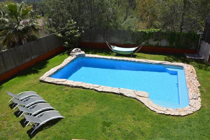 Villa Sitges El Olivo XXL Pool 30ºC, 10' Sitges.