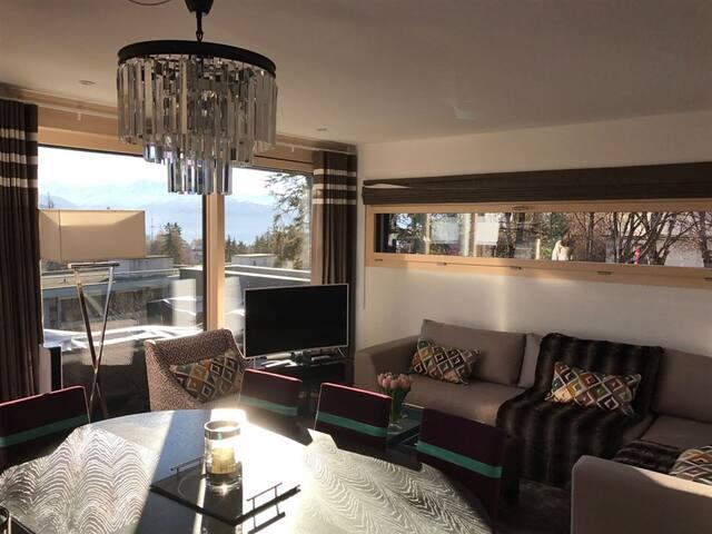 """""""Les Chardons"""" 3 bedroom apartment - Crans-Montana - Flat"""