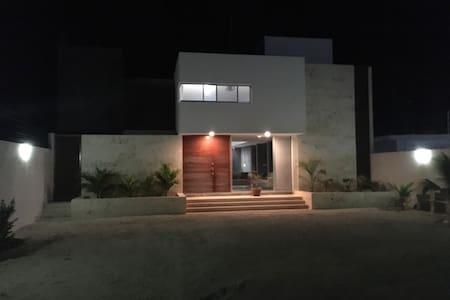 Casa Virasol. Chelem, Yucatán - Chelem - 一軒家