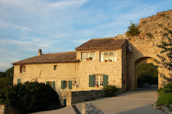 Gigondas Huis met uitzicht