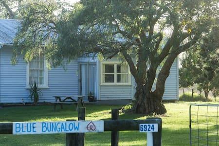 The Blue Bungalow - Te Kao - Casa