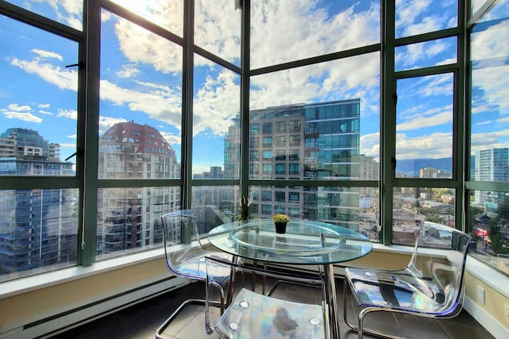 Clean Penthouse Enjoy Skyview☀Free parking/Netflix