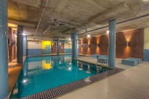 Pool and gym for guest use