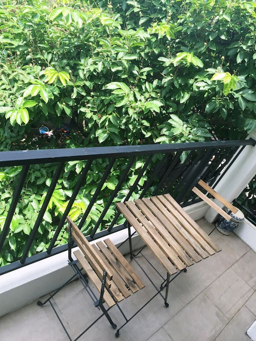 Balcony relax