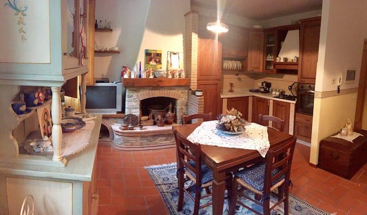 La casetta di Chichi e Lory,Mare monti Versilia.