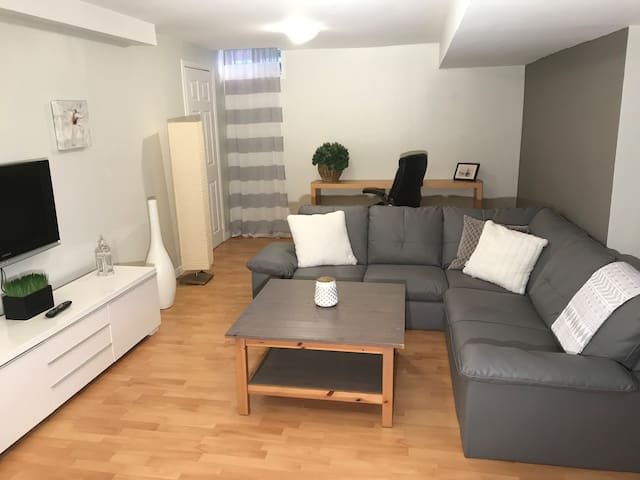 Cozy, quiet, clean lower level apartment